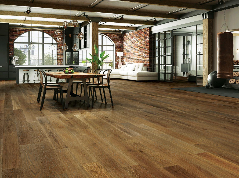 Hardwood Floor Designer Urban Loft